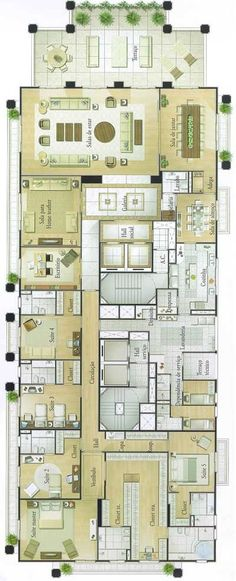 L'Essence | 734m² | Jardins | São Paulo Es un bloque de pisos, no una casa unifamiliar