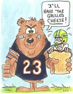 Chicago Bears have the Grilled Cheese!