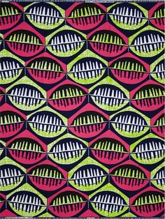 Vlisco Dutch wax block print fabric