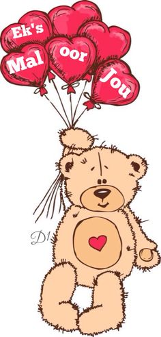 """'Valentine´s Day """"Bear with Hearts""""' by GNDesign"""