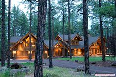 Yes please.... I love log houses!