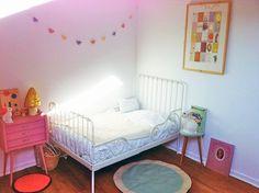 woodland rabbit night light, mushroom lamp, circle rug, kids room