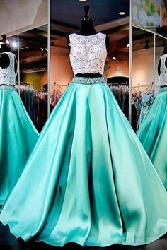 best=Mint Green Prom Dress 2 Piece Prom Gowns 2 Piece Prom Dresses Lace Prom Dresses Mermaid Prom Gown P on Luulla Her Bridesmaid Dresses Short, A Line Prom Dresses, Quinceanera Dresses, Prom Dresses With Pockets, Mermaid Gown Prom, Mermaid Dresses, Red Lehenga, Lehenga Choli, Bridal Lehenga