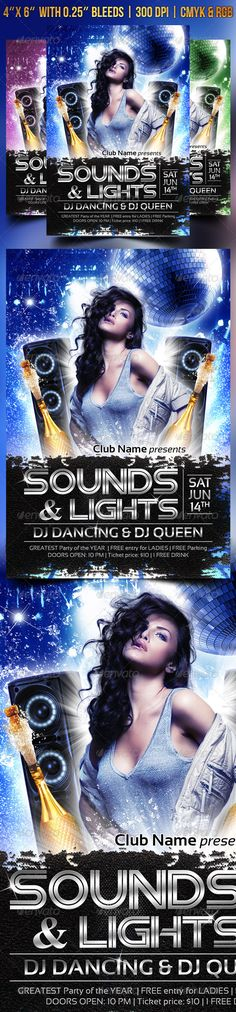 Realistic Graphic DOWNLOAD (.ai, .psd) :: http://jquery-css.de/pinterest-itmid-1007887806i.html ... Sounds and Lights ...  bash, breakdance, champagne, dance, dancing, disco, dj, electro, event, flyer, girl, hip hop, hits, hot, ladies, light, lights, mix, music, night, party, poster, sexy, sound, sounds&lights, speakers, techno  ... Realistic Photo Graphic Print Obejct Business Web Elements Illustration Design Templates ... DOWNLOAD :: http://jquery-css.de/pinterest-itmid-1007887806i.html