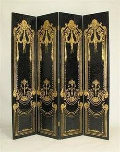 I pinned this Vintage Theatre Room Divider from the Movie Night event at Joss and Main! Decorative Room Dividers, Sliding Room Dividers, Wall Dividers, Changing Screen, Dressing Screen, Dressing Room, Floor Screen, Gold Home Accessories, Room Divider Screen