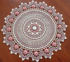 crochet doilies free patterns | ... 2012 at 1729 × 1536 in CGOA 2012 Crochet Design Competition Results