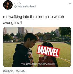 You gonna break my heart AGAIN, marvel? Marvel Actors, Marvel Funny, Marvel Dc Comics, Marvel Avengers, Avengers Memes, Marvel Memes, Avengers Infinity War, Humor, Marvel Cinematic Universe