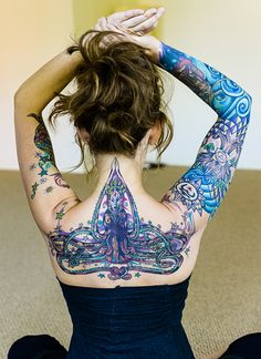 39 best yogainspired tattoos images  tattoos body art yoga