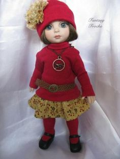 """""""Bright Berries""""` 7 Pcs Tonner Patsy Ann Estelle Bethany Kish by Fantasy Frocks 