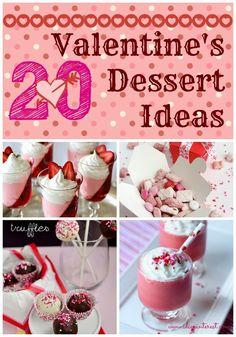 20 Perfect Valentine's Day Desserts #valentinesday #recipes #desserts