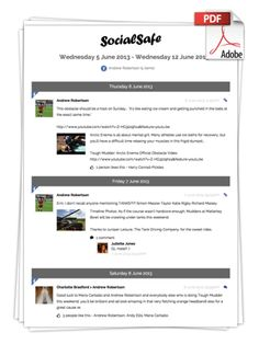 SocialSafe v6.6.3 Released - Create PDFs fast, from almost everywhere, plus lots of improvements