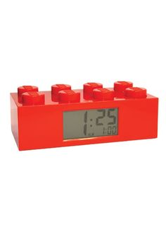 LEGO Alarm Clock.  This is a must for my lego fanatic kid!!