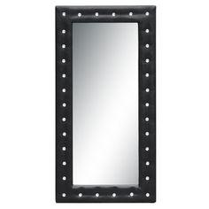 "Finemod Imports Modern Tufted Mirror 46"" #design #homedesign #modern #modernfurniture #design4u #interiordesign #interiordesigner #furniture #furnituredesign #minimalism #minimal #minimalfurniture"