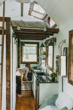 Mire a escondidas en el interior más pequeña casa de lujo en el mundo