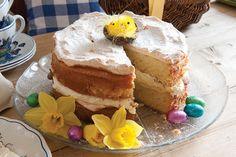 Orange Meringue Cake