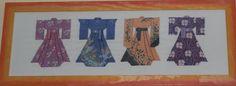 Kimonos point de croix