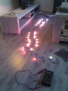 DIY Ambilight met Raspberry Pi.