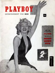 From Marilyn Monroe to Kim Kardashian, many famous celebrities, singers, actresses, and comedians have graced Hugh Hefner's iconic Playboy magazine cover. Marilyn Monroe Playboy, Marilyn Monroe Wallpaper, Marilyn Monroe Poster, Foto Poster, Hugh Hefner, Old Magazines, Vintage Magazines, Cover Model, Norma Jeane