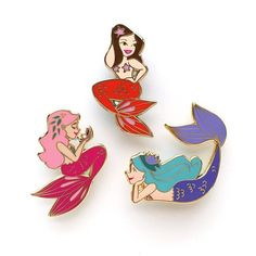 Happy Mermaid Monday! I'm almost all sold out of my enamel pins and they will NOT be restocked, so if you've had your eye on one, grab it ASAP! Shop link in my bio! #pingamestrong #mermaidlife #mermaidmonday #pingame