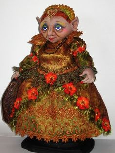 """""""Queen of the Trolls"""" Patterns by Arley Berryhill"""