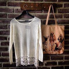 """Διαγωνισμός """"The Little Fabrica"""" με δώρο την μπλούζα και την υφασμάτινη τσάντα της φωτογραφίας - http://www.saveandwin.gr/diagonismoi-sw/diagonismos-the-little-fabrica-me-doro-tin-blouza-kai-tin-yfasmatini/"""
