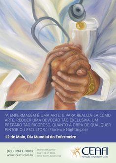 """""""Dia do Enfermeiro"""" para o CEAFI #nurseday #enfermeiro #saúde #health"""