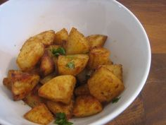 chaat-masala-spiked-homefries1 ... again with the oven, but easy to do without, too. Great site, Hungry Desi (seems to be US based, lots of oven use etc, but useful)