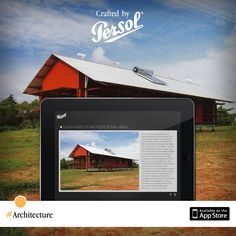 Discover craftsmanship in architecture on our new iPad app, CraftedxPersol. Free download @ http://pers.sl/Q4wMuS