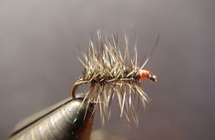 Griffith's Gnat Dry Fly (6 flies)  on Etsy, $9.00