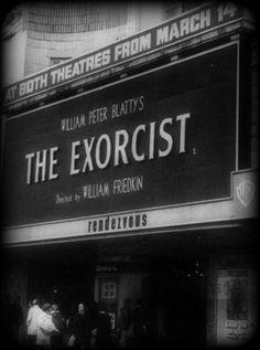 Into the Darkness Seduction...Primera representación de El Exorcista.