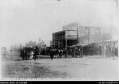 Argent St in Broken Hill (year unknown). Outback Australia, South Australia, Western Australia, South Wales, Parks, Camping, Historical Pictures, Fresh Water, Wilderness