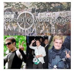 Josh changing the world one peace sign at a time Hunger Games Pin, Hunger Games Cast, Hunger Games Mockingjay, Mockingjay Part 2, Hunger Games Catching Fire, Hunger Games Trilogy, Hunger Games Exhibition, Adventure Film, Josh Hutcherson