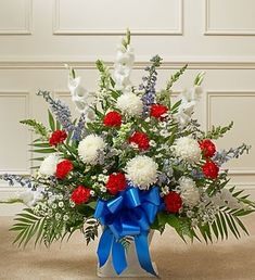 American Patriot Sympathy Basket