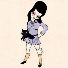 Ilse Valfre illustration debut 8/9/16