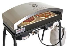 Homemade pizza never tasted so good. Inspired by the famous brick ovens of Italy, the Camp Chef Artisan Pizza Oven 60 accessory cooks artisan pizza with a superior cooking design. Camp Chef Stove, Commercial Pizza Oven, Camping Oven, Oven Top, Stove Accessories, Outdoor Oven, Outdoor Stuff, Artisan Pizza, Pizza Flavors