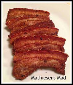 Stegt flæsk i ovn - Mathiesens Mad Tasty, Yummy Food, Food And Drink, Pork, Snacks, Meat, Dinner, Cooking, Breakfast
