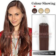 20 inches 6pcs clip in human hair extensions straight 33 rich 24 inch 100s micro loop ring remy hair extensions 33 rich copper red pmusecretfo Choice Image