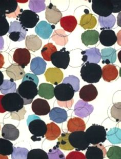 Dots by Luli S& via pattern and co Graphic Patterns, Textile Patterns, Textile Prints, Print Patterns, Surface Pattern Design, Pattern Art, Textiles, Art Graphique, Art Abstrait