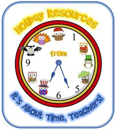 """All of my holiday resources in one place!  """"Owl"""" bet you will find something you like. http://www.teacherspayteachers.com/Store/Barbara-Evans/Category/Holiday-Resources"""