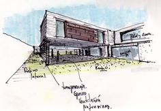 sketching architecture.