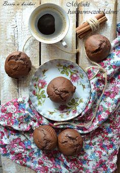 Basia w kuchni: Muffinki bananowo-czekoladowe wedługł Nigelli Laws...