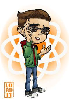 Big Bang Theory- Leonard by lordmesa.deviantart.com on @deviantART
