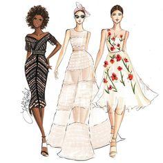Fashion lllustrator- Boston info@hnicholsillustration.com Snapchat  hnillustration shop