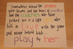Softball+Quotes+Tumblr | play for her quotes sports fell in love picture quote