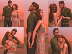I've gotten a lot of suggestions for height difference poses, so I cooked up something cutesy for you to enjoy! 🙂 Found in TSR Category 'Sims 4 Poses' Sims 4 Couple Poses, Couple Photoshoot Poses, Couple Photography Poses, Couple Posing, Family Photography, Cooking Photography, Sims 4 Family, The Sims 4 Cabelos, Sims 4 Gameplay