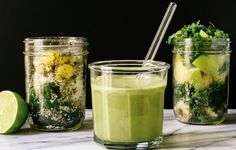 3 Green Smoothies You Can Totally Make Ahead Of Time  http://www.womenshealthmag.com/food/make-ahead-green-smoothies?utm_campaign=DailyDose