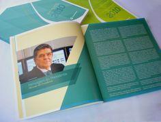 Annual report graphic design