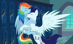 Rainbow Dash and Soarin