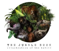 The Jungle Books / photoshop / 2013
