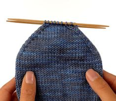 How to Knit a Basic Rounded Toe